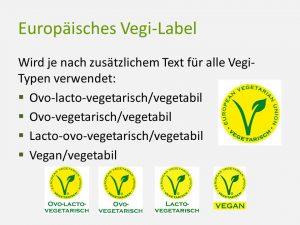 Europäisches Vegi-Label