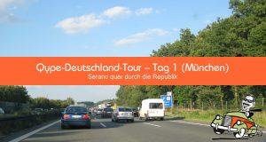 Qype-Deutschland-Tour - Tag 1 (München)