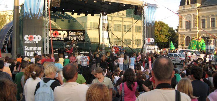 Coop Jednota Summer Tour 08