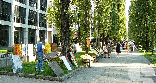 Die Leopoldstraße