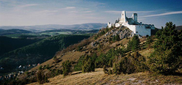 Burg Čachtice in Čachtice