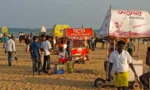 Am Mahabalipuram Beach