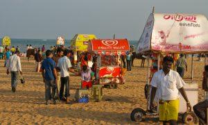 Am Mahabalipuram Beach