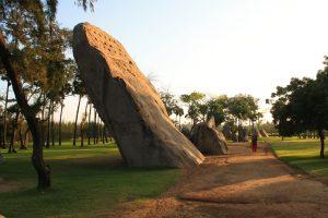 Der Tiger Cave in Mahabalipuram