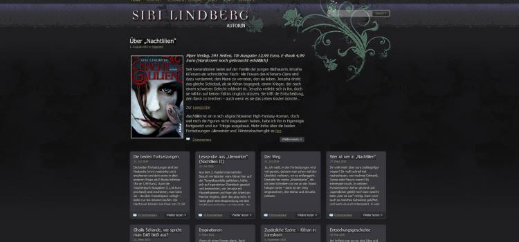 Neue Webseite: Siri-Lindberg.de