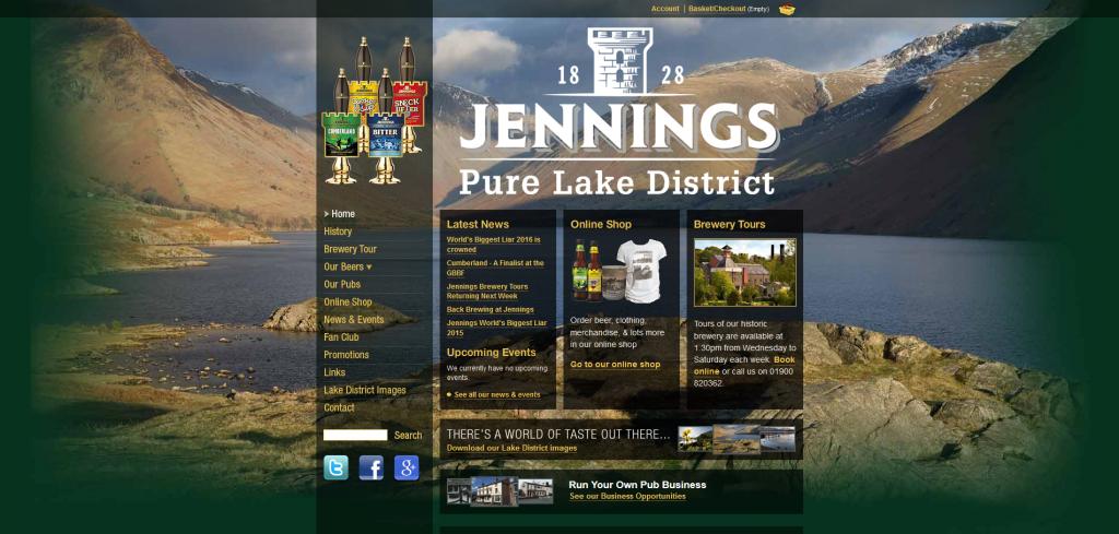 JenningsBrewery.co.uk