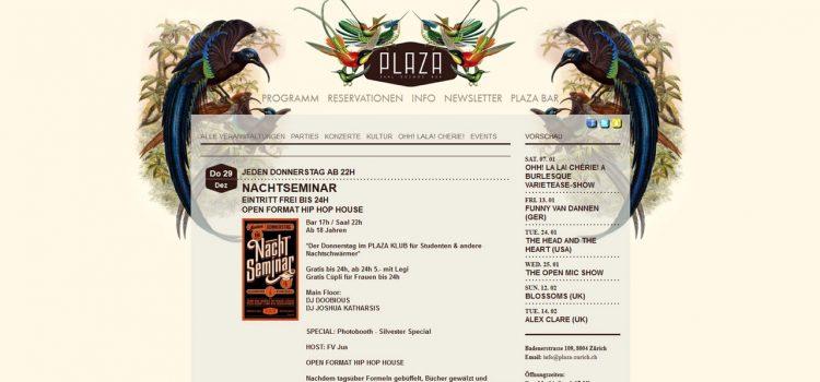 Plaza-Zurich.ch