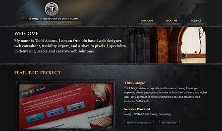 Webseite 2009