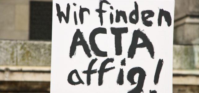 ACTA-Demo in München am 11.02.2012