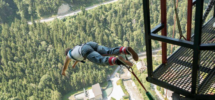 Günnes Bungee Sprung 192m