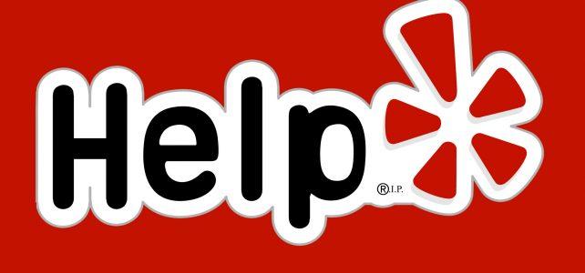 Yelp vs. Help