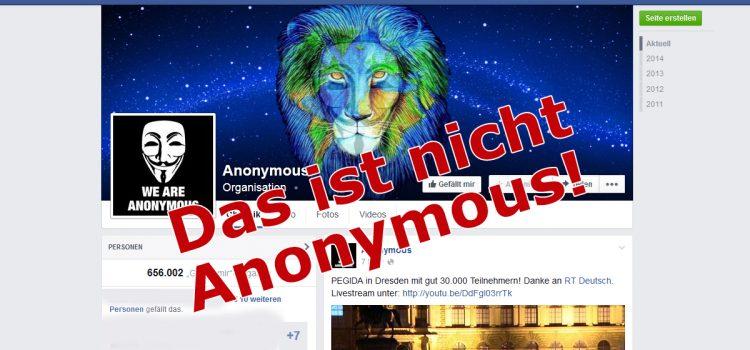 Anonymous.Kollektiv ist Fake