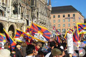 Tibetan Freedom Torch Relay München