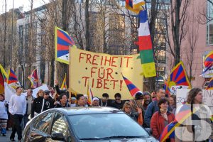 Tibetan Freedom Torch Relay München