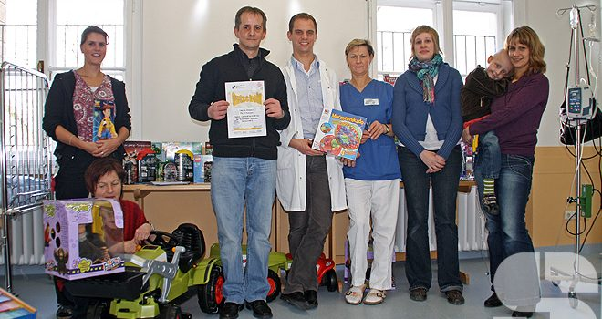 Besuch im Dr. von Haunersches Kinderspital