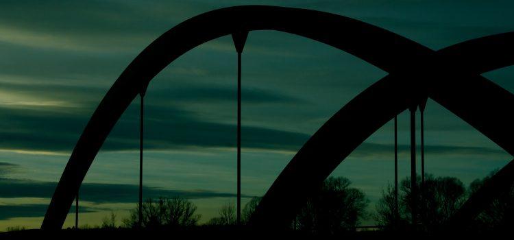Die Amperbrücke in Stegen