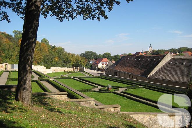 Barockgarten St. Ulrich in Mücheln