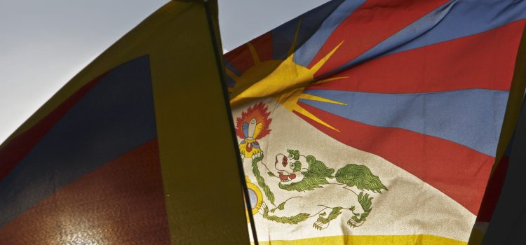 """10. März 2015 """"München zeigt Flagge für Tibet"""""""
