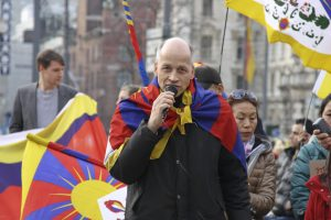 München zeigt Flagge für Tibet 2015