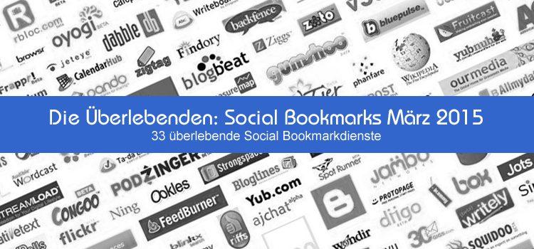 Die Überlebenden: Social Bookmarks März 2015
