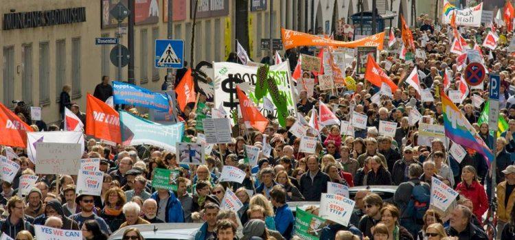 München gegen TTIP, CETA und TiSA am 18.04.2015