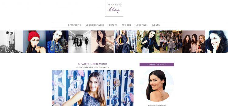 Jeanny's Blog – Jeannette Graf