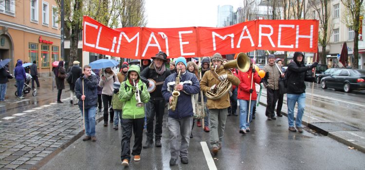 Global Climate March am 29.11.2015 in München