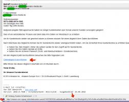 Spam-Mail: Amazon Kunden-Sicherheit
