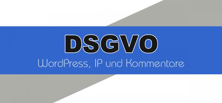 DSGVO-konforme WordPress Kommentare