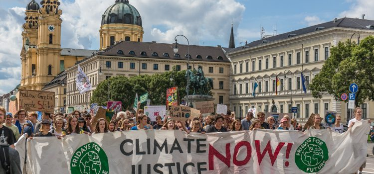 Fridays for Future München am 16.08.2019