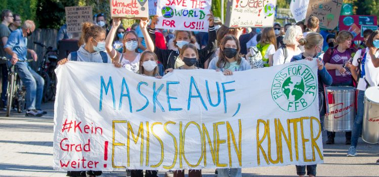 Fridays for Future in FFB am 24.09.2021
