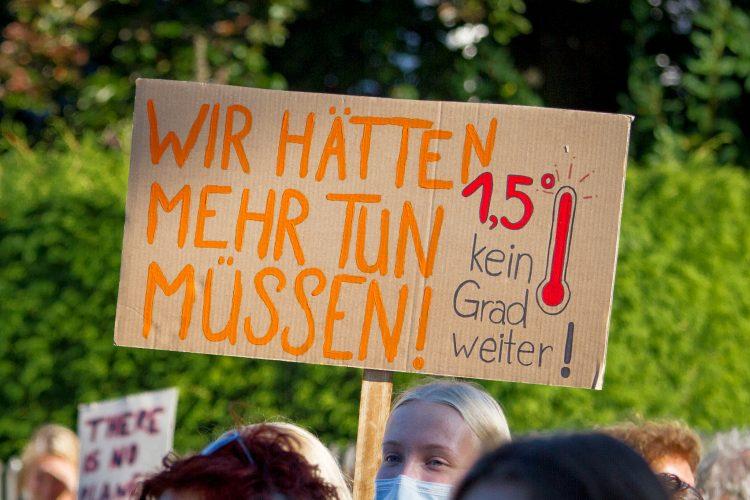 Firdays for Future Demo Fürstenfeldbruck